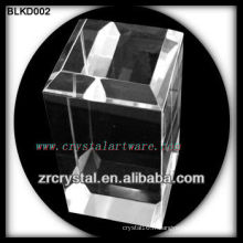 K9 Blank Crystal Block pour la gravure laser 3D BLKD002