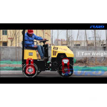 Construction Machinery 1 Ton Asphalt Compactor Road Roller