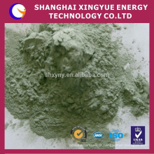 preço de fábrica do fabricante de ouro de carboneto de silício verde