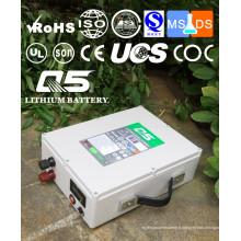 12V65AH Batteries au lithium industrielles Lithium LiFePO4 Li (NiCoMn) O2 Polymer Lithium-Ion Rechargeable ou personnalisé