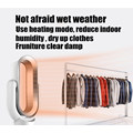 Venta caliente ABS 10 pulgadas PTC Ceramic Heating Table Electric Mini ventilador caliente y fresco con control remoto
