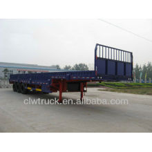 3axle cargo semi trailer 30 tons 3 axle side wall semitrailer for sale