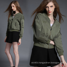 Hot Sale Europe Style Motorcycle Jacket for Women