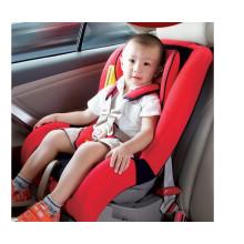 Asientos de coche de bebé rojo y negro para 0-18kg