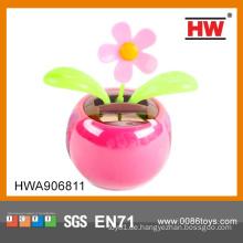 Plastik Solarbetriebene Tanz Spielzeug Blume