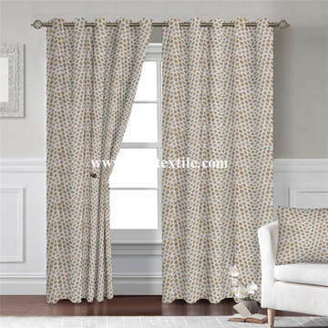 Leopard Design Curtain Fabric