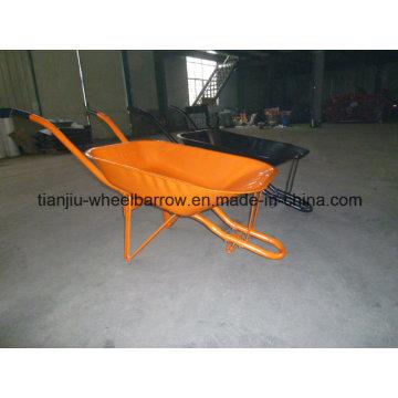 Carretilla del jardín popular de Nigeria Market y de Brasil Wb6220