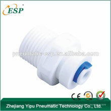 ESP straight union connectors white water fittings plastic tube tools