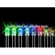 Heiße Verkäufe 346 ovale rote Dip 3mm LEDs 5mm