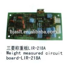 Peso medido circurt bordo / PCB bordo / Mitsubishi elevador partes