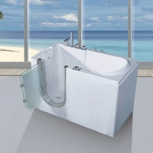 Whirlpool Air Jetted Walk In Tub Shower Combo