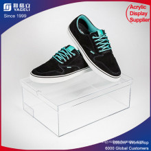 Customize Clear PMMA Display Case Acrylic Shoe Display Box
