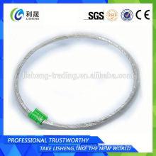 Câbles en fil d'acier galvanisé 7 * 7 pour câbles automatiques