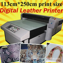 Leather Printer Machine (Leather Shoes Printer, Leather Bag Printing Machine)