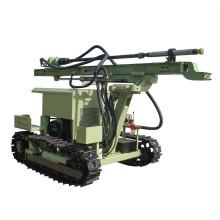 Буровая установка с дизельным двигателем и воздушным компрессором