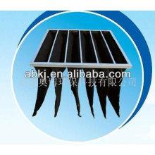 bolsa de filtro de carbón accionado / medios de filtro de bolsillo de aire