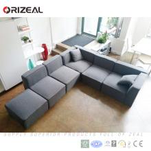 Chine design moderne rembourrage tissu canapé usine, pas cher nouveau tissu canapé ensembles prix le plus bas