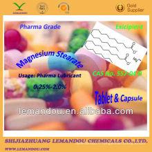 Stéarate de magnésium, Pharma Grade / Medicine Grade, Tablet & Capsule lubrifiant pharmaceutique