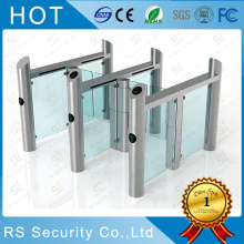 High Bright Stadium Sliding Glass Turnstile System