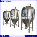 Fermentador de cerveja cônico industrial de aço inox 304