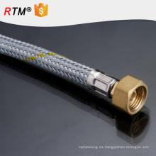 J1 baño extensible baño sanitario tubo de ducha doble cifrado galvanoplastia núcleo de cobre baño de zinc tubo de ducha