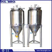 Конический бак 200л из нержавеющей стали для пива затирания/ заквашивать