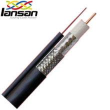 Изоляционный материал и поливинилхлоридный коаксиальный кабель