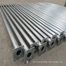 CE Approved Hot DIP Galvanizing Steel Poles