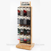 Brand Behind The Brands Freestanding Or Tabletop Retail Socks Display Stand To Achieve Sale Goals And Reinforce Your Brand Image