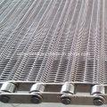Cinturón de malla para transportadores de alimentos de acero inoxidable