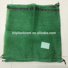 bolsas de red para leña, bolsa de embalaje de leña, bolsa de malla raschel