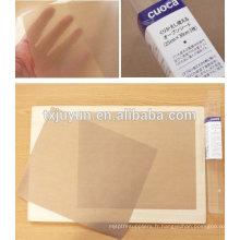 Plaque de revêtement en papier réutilisable antiadhésive four micro-ondes