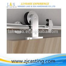 Hardware interior moderno de la puerta de granero de desplazamiento / hardware de la puerta deslizante