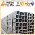 Alibaba aço galvanizado tubo quadrado Materiais de Construção