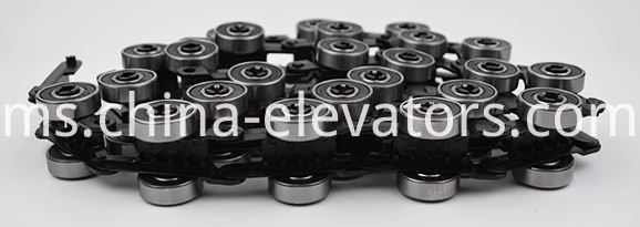 KONE Escalator Reversing Chain 24 pair rollers