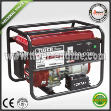 TIGER Machinerie industrielle SH2900DXE générateur d'essence 2.3KW / 6.5HP