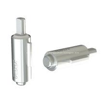 Amortiguador de paletas con amortiguador rotatorio para equipos médicos