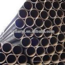 Tubos de parede fina soldados / tubo galvanizado / tubo preto