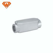 cuerpo de conducto de LC de hierro maleable