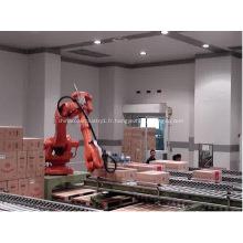 Empilement automatique de palettes robotisées