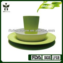 Nouvel ensemble de vaisselle à base de fibres biodégradables