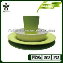 new arrival biodegradable fiber tableware set