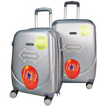 """ABS чемодан 20 """"24"""" 28 """"дюймовая тележка сумка расширяемый дорожный каток"""
