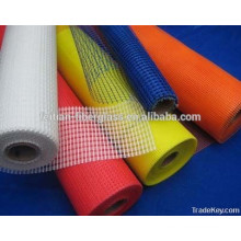 Kinds of 160gr 5x5 alkali resistant fiberglass mesh with best quality in Feitian
