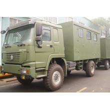 Caminhão de oficina móvel Sinotruk
