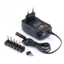 Универсальный AC DC адаптер зарядное устройство 2А 30Вт полную мощность переключения питания