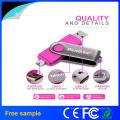 Nova chegada Hotsale USB2.0 Swivel OTG USB Flash Drive