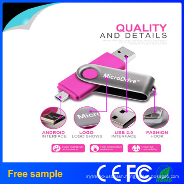New Arrival Hotsale USB2.0 Swivel OTG USB Flash Drive