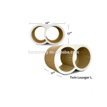 Venda quente de alta resistência combinado duplo anel tipo gato escalada quadro árvore do gato duplo anel de bênção CT-4023