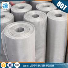 Pantalla de malla de alambre de inconel resistente al calor 100 tela de alambre inconel 600 601 de malla de 600
